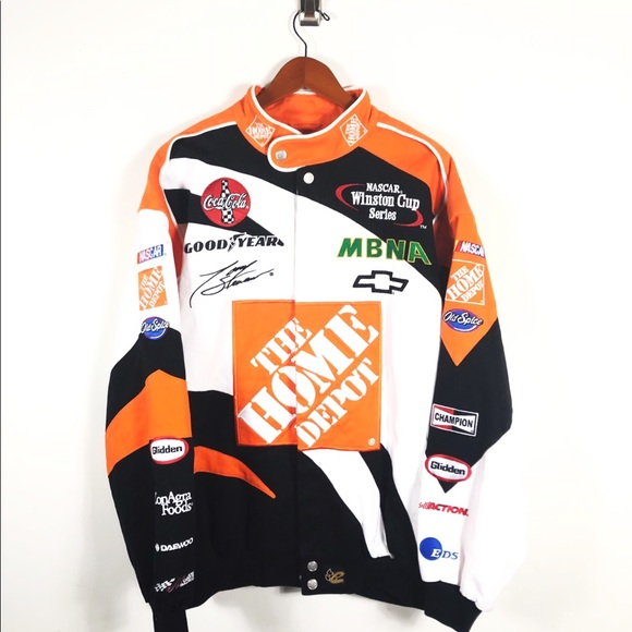 d4b65a36 Nascar Jackets & Coats | Tony Stewart Home Depot Racing Jacket ...